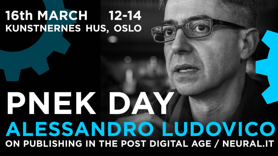 PNEK DAY with ALESSANDRO LUDOVICO