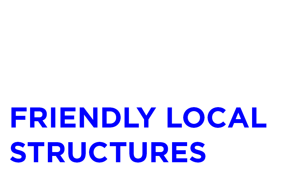 Friendly Local Structures